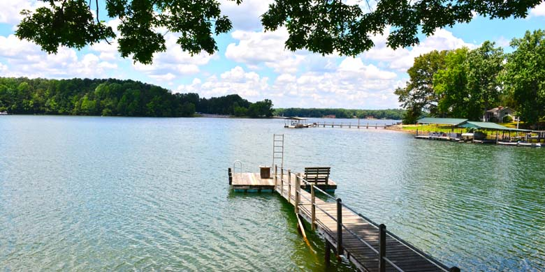 Lake Norman Vacation Rental Home Deck