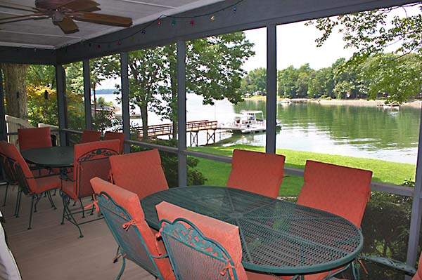 Lake House Screened Porch